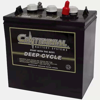 Centennial GC 2000P 6-Volt, 200 Amp Hour