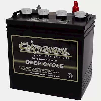 Centennial GC 8VP 8-Volt, 165 Amp Hour