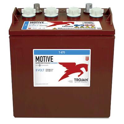 Trojan T-875 8-Volt, 170 Amp Hour